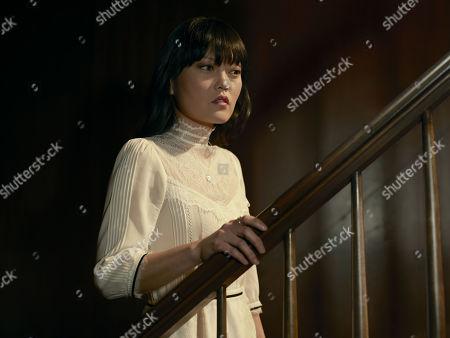 Stock Photo of Hana Mae Lee as Scotty Sholes