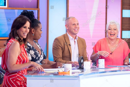 Andrea McLean, Brenda Edwards, Judge Rob Rinder, Denise Welch