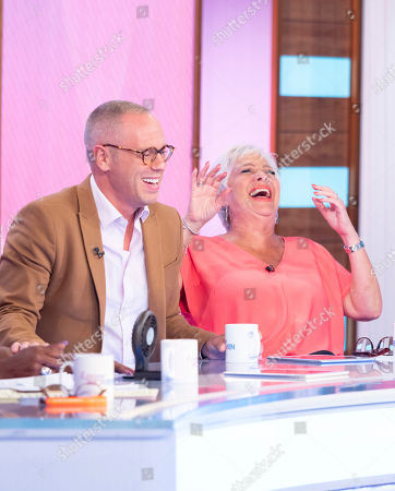Judge Rob Rinder, Denise Welch