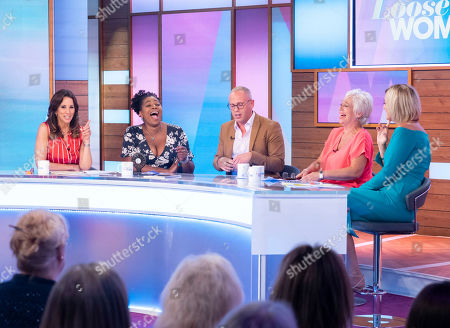 Andrea McLean, Brenda Edwards, Judge Rob Rinder, Denise Welch and Jane Moore