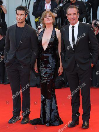Louis Garrel, Emmanuelle Seigner and Jean Dujardin