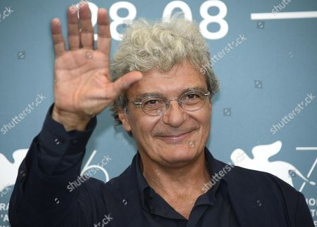 Mario Martone poses at a photocall for 'Il Sindaco del rione Sanita' during the 76th annual Venice International Film Festival, in Venice, Italy, 30 August 2019. The movie is presented in the official competition 'Venezia 76' at the festival running from 28 August to 07 September.