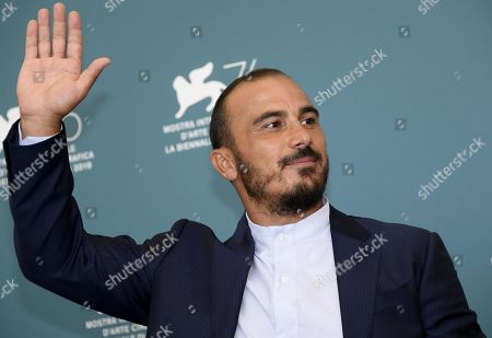 Francesco Di Leva poses at a photo call for 'Il Sindaco del rione Sanita' during the 76th annual Venice International Film Festival, in Venice, Italy, 30 August 2019. The movie is presented in the official competition 'Venezia 76' at the festival running from 28 August to 07 September.