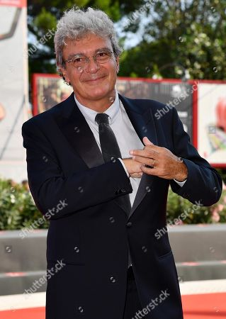 Mario Martone arrives for the premiere of 'Il Sindaco del Rione Sanita' during the 76th annual Venice International Film Festival, in Venice, Italy, 30 August 2019. The movie is presented in the official competition 'Venezia 76' at the festival running from 28 August to 07 September.