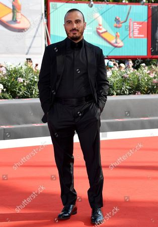 Francesco Di Leva arrives for the premiere of 'Il Sindaco del Rione Sanita' during the 76th annual Venice International Film Festival, in Venice, Italy, 30 August 2019. The movie is presented in the official competition 'Venezia 76' at the festival running from 28 August to 07 September.