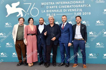Roberto De Francesco, Daniela Ioia, Francesco Di Leva, Mario Martone, Massimiliano Gallo and Adriano Pantaleo