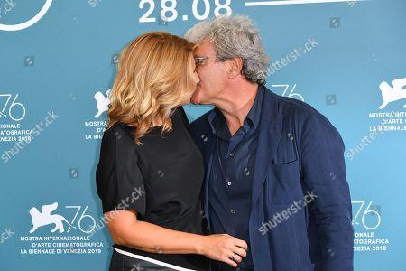 Mario Martone and Ippolita Di Majo