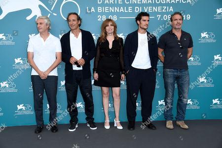 Emmanuelle Seigner, Jean Dujardin, Louis Garrel, Alexandre Desplat, Alain Goldman