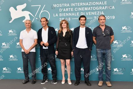 Emmanuelle Seigner, Jean Dujardin, Louis Garrel, Alain Goldman, Alexandre Desplat