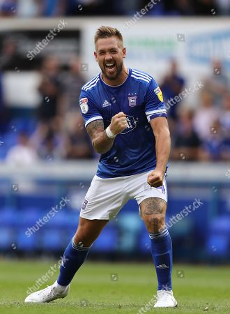 Luke Chambers of Ipswich Town celebrates the 3-0 win - Ipswich Town v Shrewsbury Town, Sky Bet League One, Portman Road, Ipswich, UK - 31st August 2019