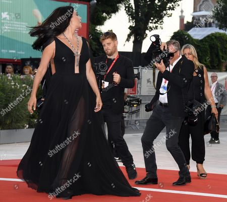 Nadine Labaki (L) arrives for the premiere of 'J'Accuse' during the 76th annual Venice International Film Festival, in Venice, Italy, 30 August 2019. The movie is presented in official competition 'Venezia 76' at the festival running from 28 August to 07 September.