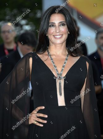 Nadine Labaki arrives for the premiere of 'J'Accuse' during the 76th annual Venice International Film Festival, in Venice, Italy, 30 August 2019. The movie is presented in official competition 'Venezia 76' at the festival running from 28 August to 07 September.