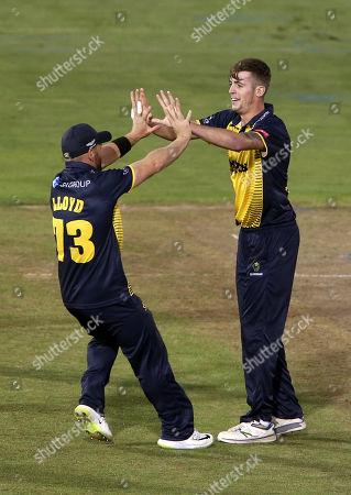 Editorial photo of Glamorgan v Hampshire - Vitality T20 Blast - 30 Aug 2019