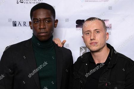 Damson Idris and Theo Barklem-Biggs
