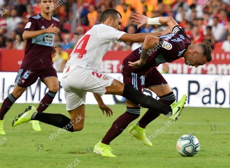 Editorial photo of Sevilla FC vs Celta de Vigo, Spain - 30 Aug 2019