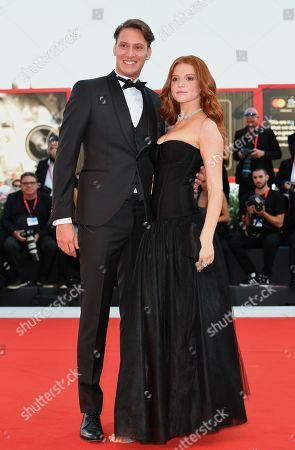 Stock Photo of Ludovica Bizzaglia and Cristiano Piccirillo