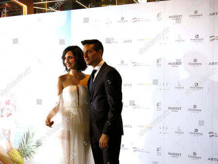"Ximena Romo, Vadhir Derbez. Mexican actors Ximena Romo and Vadhir Derbez pose for photos as they arrive for a red carpet event for the film ""Como si fuera la primera vez,"" in Mexico City. ""Como si fuera la primera vez"" is a remake of ""50 First Dates"" and premieres on Friday, Aug. 30"