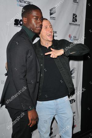 Stock Picture of Damson Idris and Theo Barklem-Biggs