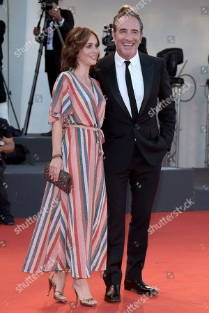 Nathalie Pechalat and Jean Dujardin