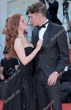 Stock Image of Ludovica Bizzaglia and Cristiano Piccirillo