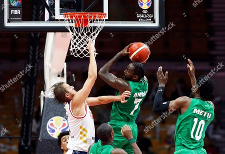 Editorial picture of FIBA Basketball World Cup 2019, Wuhan, China - 31 Aug 2019