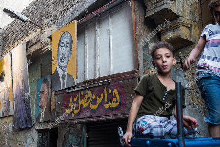 Editorial picture of Daily life in Egypt, Cairo - 30 Aug 2019