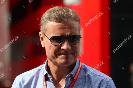 David Coulthard during the Formula 1 Johnnie Walker Belgian Grand Prix 2019 at Circuit De Spa-Francorchamps, Spa