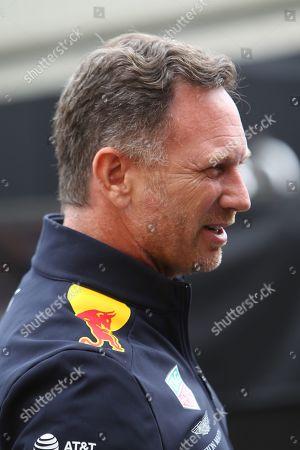 Christian Horner during the Formula 1 Johnnie Walker Belgian Grand Prix 2019 at Circuit De Spa-Francorchamps, Spa