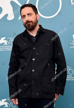 Pablo Larrain poses at a photocall for 'Ema' during the 76th annual Venice International Film Festival, in Venice, Italy, 31 August 2019. The movie is presented in the official competition 'Venezia 76' at the festival running from 28 August to 07 September.