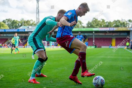 Editorial picture of Scunthorpe United v Carlisle United, EFL Sky Bet League 2 - 31 Aug 2019