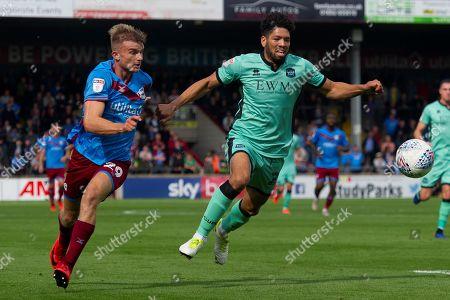 Editorial photo of Scunthorpe United v Carlisle United, EFL Sky Bet League 2 - 31 Aug 2019