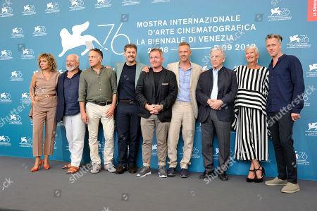 Costa-Gavras, Christos Loulis, Alexandros Bourdoumis, Daan Schuurmans, Josiane Pinson, Valeria Golino and Cornelius Obonya