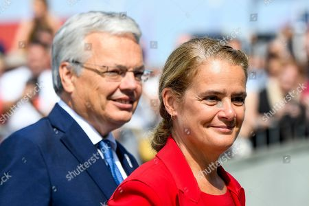 Julie Payette and Didier Reynders