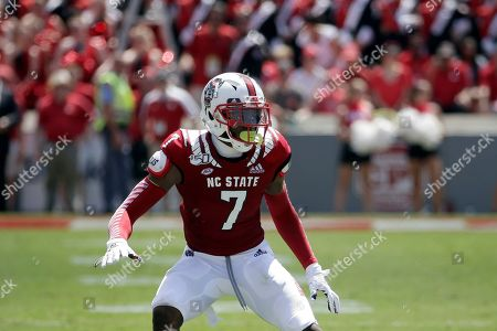 North Carolina State cornerback Chris Ingram (7) defends a pass play during the first half of an NCAA college football game against East Carolina in Raleigh, N.C