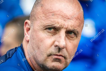 Wigan manager Paul Cook during the EFL Sky Bet Championship match between Wigan Athletic and Barnsley at the DW Stadium, Wigan