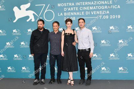 Pablo Larrain, Gael Garcia Bernal, Mariana Di Girolamo and Juan de Dios Larrain