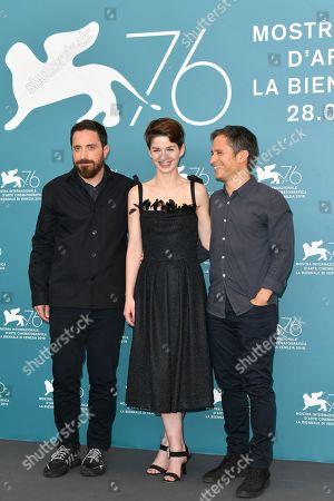 Pablo Larrain, Mariana Di Girolamo and Gael Garcia Bernal