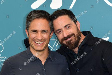 Gael Garcia Bernal and Pablo Larrain
