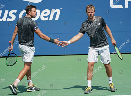 Kevin Krawietz and Andreas Mies