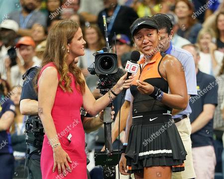 Naomi Osaka and Mary Joe Fernandez