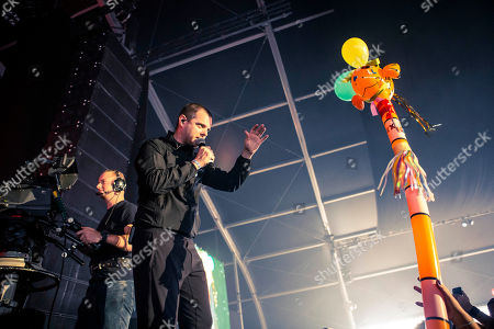 The Streets - Mike Skinner in concert at day one of Lowlands Festival