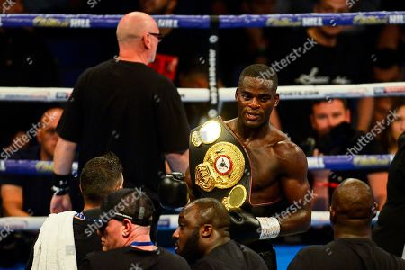 Editorial photo of Joshua Buatsi vs Ryan Ford, Boxing, O2 Arena, London, UK - 31 Aug 2019