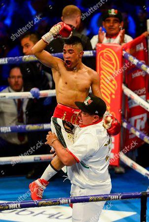 Editorial photo of Charlie Edwards vs Julio Cesar Martinez, Boxing, O2 Arena, London, UK - 31 Aug 2019