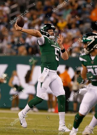 Editorial picture of Eagles Jets Football, East Rutherford, USA - 29 Aug 2019