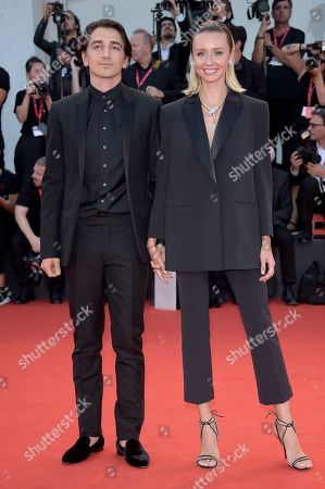 Stock Picture of Nataly Osmann and Murad Osmann