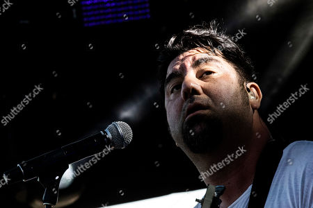 Chino Moreno of the Deftones performs on stage during the Daydream Festival at the Rose Bowl in Pasadena, California, USA, 31 August 2019. The festival only runs for one day.