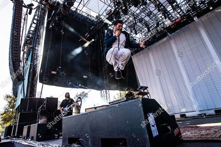 Stock Picture of Chino Moreno of the Deftones performs on stage during the Daydream Festival at the Rose Bowl in Pasadena, California, USA, 31 August 2019. The festival only runs for one day.