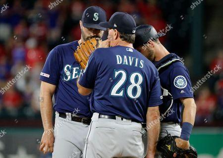 Editorial photo of Mariners Rangers Baseball, Arlington, USA - 31 Aug 2019