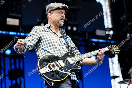 Joey Santiago of The Pixies performs on stage during the Daydream Festival at the Rose Bowl in Pasadena, California, USA, 31 August 2019.
