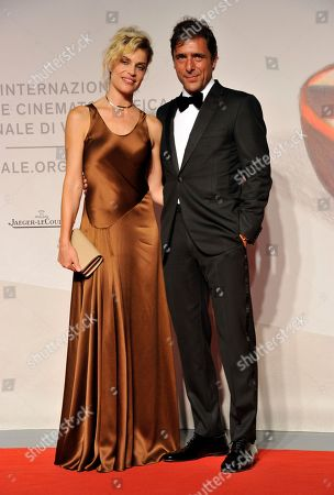 Micaela Ramazzotti and Adriano Giannini